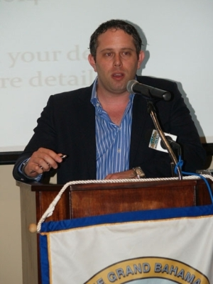 President and CEO of Island Outsourcers Call Center Yoni Epstein